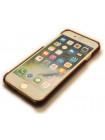 Чехол накладка кожаная Pierre Cardin, красная для iPhone 8