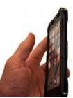 Чехол противоударный R-Just Gundam, чёрный для iPhone 8