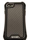Чехол противоударный R-Just Amira Black для iPhone 8