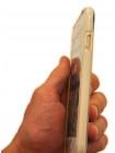 Чехол противоударный Rock Guard, белый для iPhone 8
