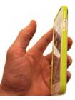 Чехол противоударный Rock Guard, зелёный для iPhone 8