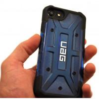 Чехол противоударный UAG, синий для iPhone 8