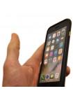 Чехол накладка, чёрный Xoomz Liquidmetal для iPhone 8