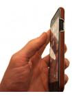 Чехол накладка Xoomz Electroplating, коричневая для iPhone 8
