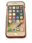 Чехол накладка Xoomz Electroplating, красный для iPhone 8