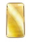 Чехол накладка Mobcase, алюминиевый, золотой, для iPhone SE