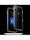 Чехол накладка, прозрачный Baseus Armor Case, чёрный для iPhone X