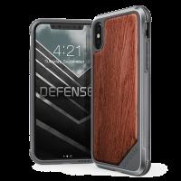 Чехол противоударный, деревяный X-Doria Defense Lux Rose Wood для iPhone X