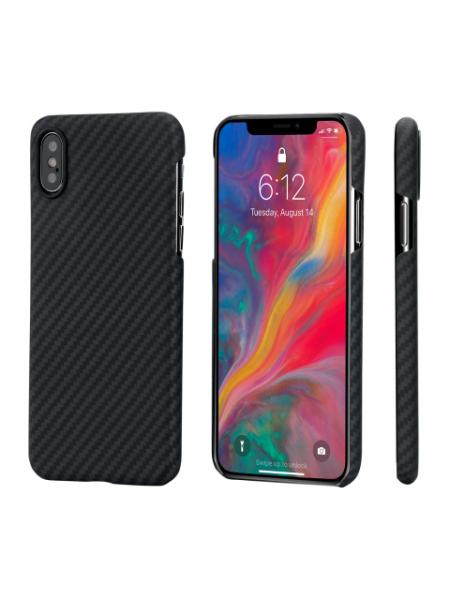 Чехол Pitaka MagCase, карбоновый, чёрный для iPhone XS MAX