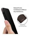 Чехол Pitaka MagCase, карбоновый, коричневый для iPhone X