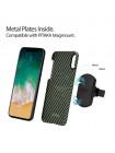 Чехол Pitaka MagCase, карбоновый, зелёный для iPhone X