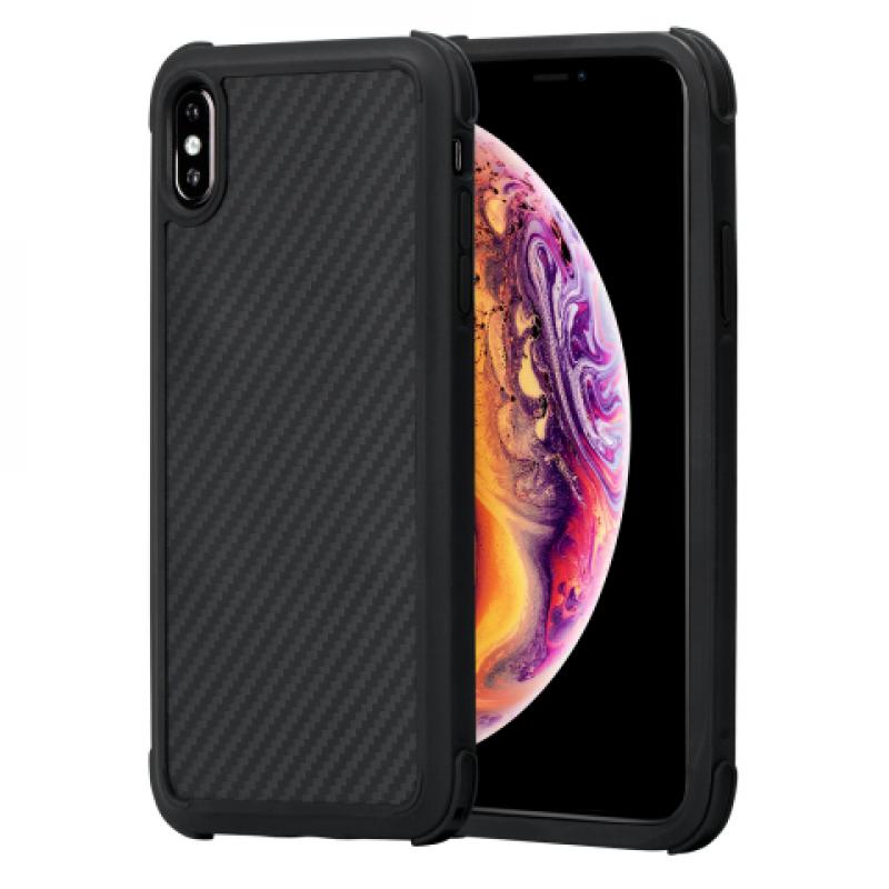 Чехол Pitaka MagCase Pro, карбоновый, чёрный для iPhone XS