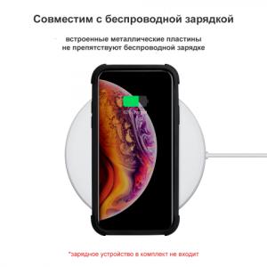 Чехол Pitaka MagCase Pro, карбоновый, чёрный для iPhone XS MAX