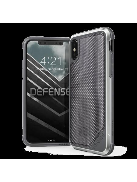 Чехол противоударный X-Doria Defense Lux Ballistic Nylon для iPhone X