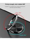 Чехол чёрный с кольцом Baseus Ring Case для iPhone X