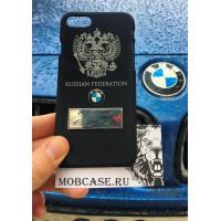 Эксклюзивный, именной чехол с логотипом BMW, Mobcase 544, для iPhone X, XS