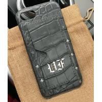 Эксклюзивный чехол Mobcase 465, кожаный с инициалами, для iPhone X, XS