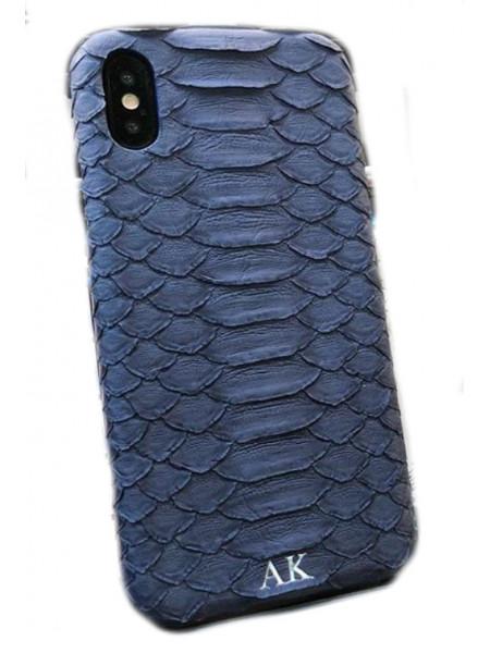Эксклюзивный чехол Mobcase 466, кожаный с инициалами, для iPhone X