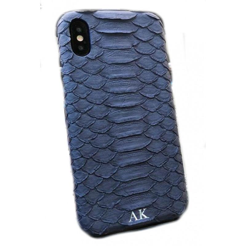 Эксклюзивный чехол Mobcase 466, кожаный с инициалами, для iPhone X, XS