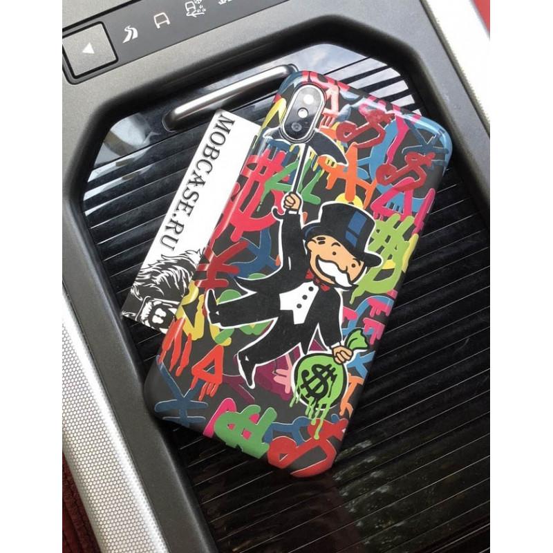 Эксклюзивный, чехол с красивым принтом Monopoly Mobcase 612, для iPhone