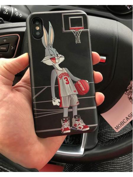 Эксклюзивный чехол, с принтом Bugs Bunny, Mobcase 524, для iPhone X, XS