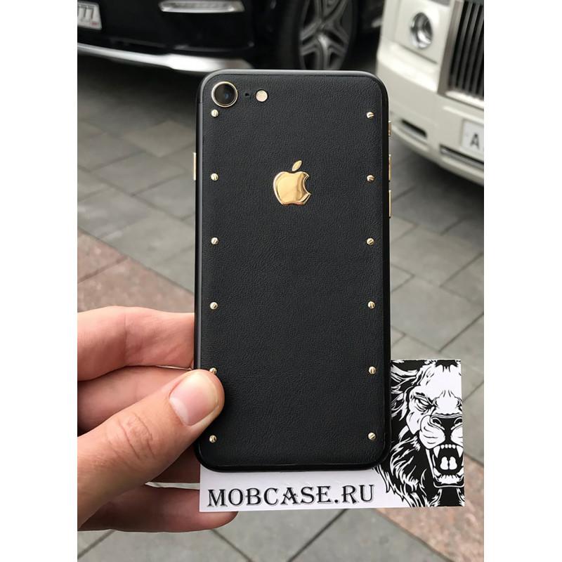 Эксклюзивный, чёрный чехол с логотипом Apple Mobcase 541, для iPhone X, XS