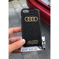 Эксклюзивный, именной чехол с логотипом Audi Mobcase 543, для iPhone X, XS