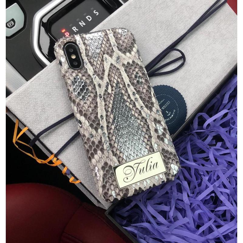 Именной, эксклюзивный чехол с надписью, Mobcase 548, для iPhone X, XS