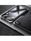 Чехол противоударный Ginmic, Solies, чёрный, для iPhone X