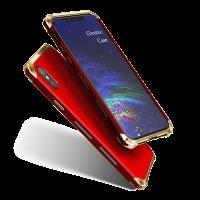 Чехол противоударный Ginmic, Solies, красный, для iPhone X