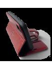Чехол книжка Pierre Cardin, кожаный, красный для iPhone X