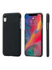 Чехол Pitaka MagCase, карбоновый, чёрный для iPhone XR