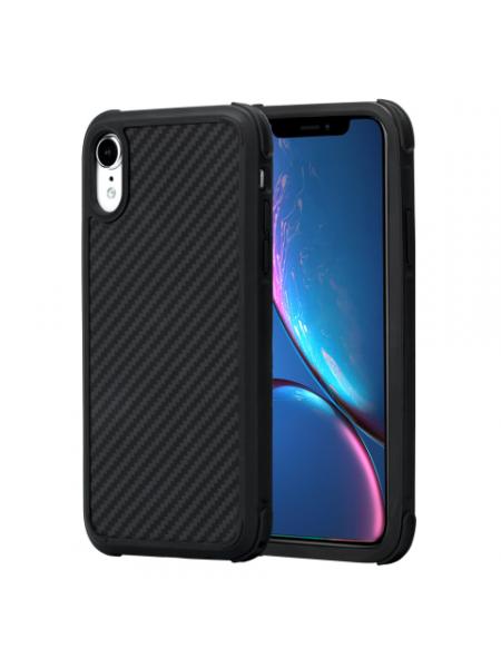 Чехол Pitaka MagCase Pro, карбоновый, чёрный для iPhone XR