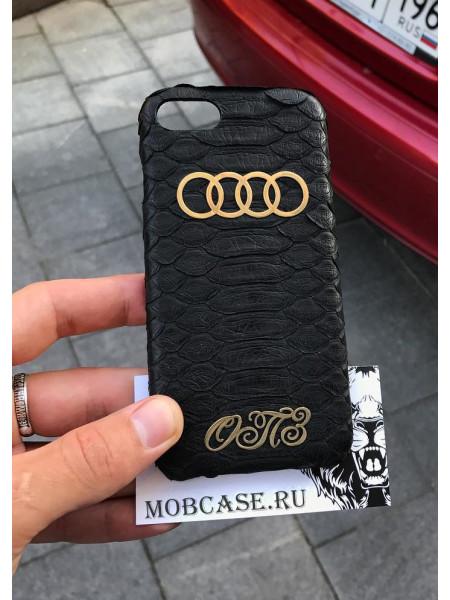 Именной чехол с логотипом Audi Mobcase 574, для iPhone 7, 8