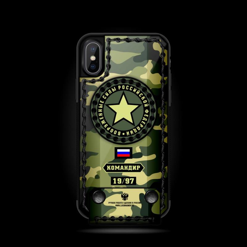 Чехол раскладушка, флип-кейс, милитари, Mobcase 685 для iPhone