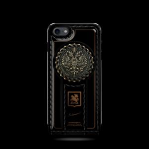 Эксклюзивный чехол, флип-кейс с гербом России Mobcase 690 для iPhone 7, 8, 7 Plus, 8 Plus, X, XS, XSMAX, XR