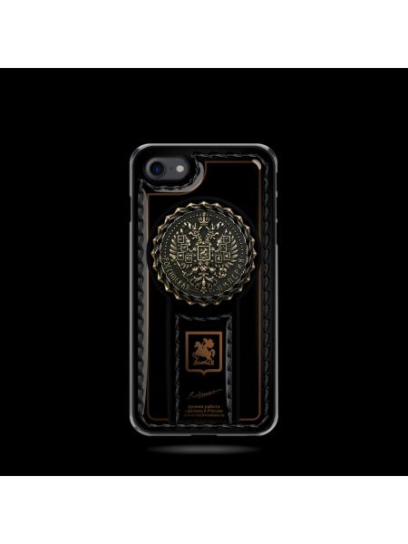 Эксклюзивный чехол-клип кейс с гербом России Mobcase 689 для iPhone 7, 8, 7 Plus, 8 Plus, X, XS, XSMAX, XR