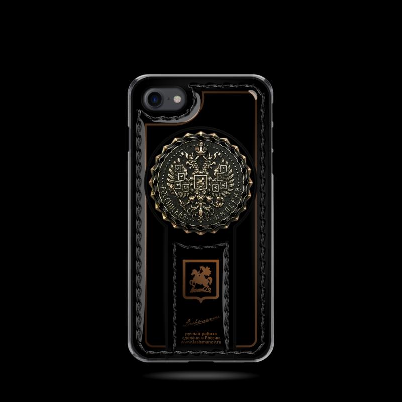 Эксклюзивный чехол-клип кейс с гербом России Mobcase 689 для iPhone
