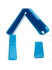 Чехол раскладушка, кожаный, Melkco, синий для iPhone 5, 5s