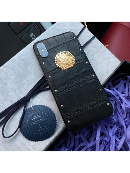 Моддинг iPhone, с гербом Узбекистана, Mobcase 637 для X|XS|XSMAX|XR
