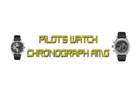 Mercedes-AMG совместно с IWC выпустила уникальные часы Pilot's Watch Chronograph AMG
