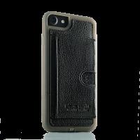 Чехол, накладка, Pierre Cardin, Wallet, чёрный на iPhone 7