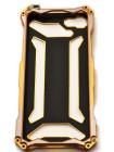 Чехол противоударный R-Just Золотой на iPhone 7 — Gundam