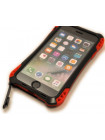 Чехол противоударный R-Just Amira red на iPhone 7 — Чёрно-красный