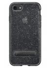 Чехол накладка Spigen, Crystal Hybrid Glitter, Space, кварц, на iPhone 7 — Силиконовая