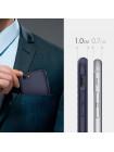 Чехол накладка, SPIGEN, Liquid Armor, темно-синий, для iPhone 7