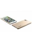 Чехол накладка Spigen, Thin Fit, золотой, на iPhone 7 — Тонкая 0.3 мм