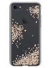 Чехол накладка, цветы, Spigen, Liquid Crystal, на iPhone 7 — С рисунком