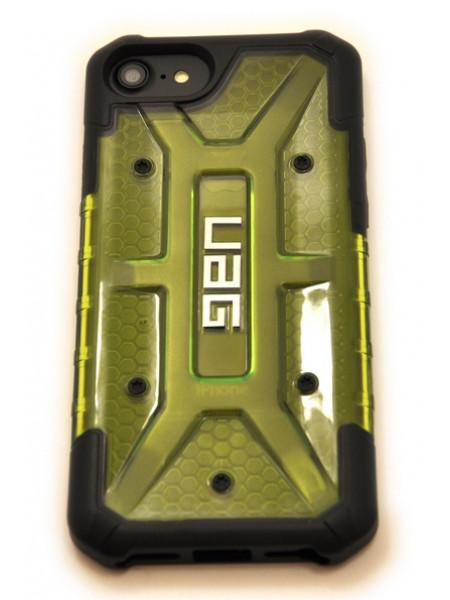 Чехол противоударный UAG зелёный на iPhone 7 — Прозрачный