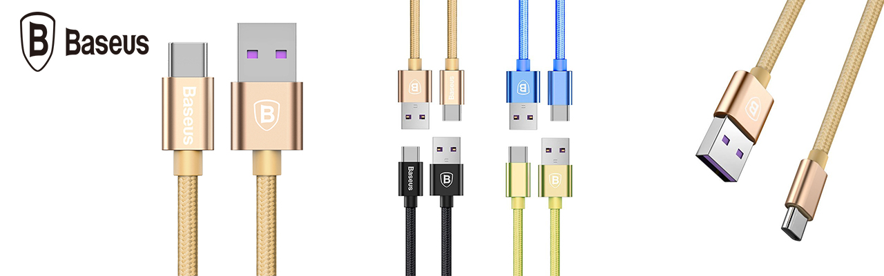Кабель type-c Baseus Speed  QC Cable 5A, чёрный